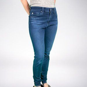 AG The Farrah Skinny Jeans Size 26 GUC